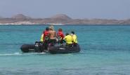 Fuerteventura Nord, Flag Beach, Rettungsboot