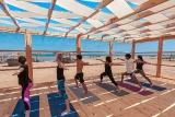 El Gouna -  KBC, Yoga mit Ausblick