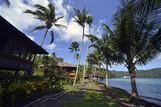 Nord-Sulawesi - Kungkungan Resort, Bungalows und Strand