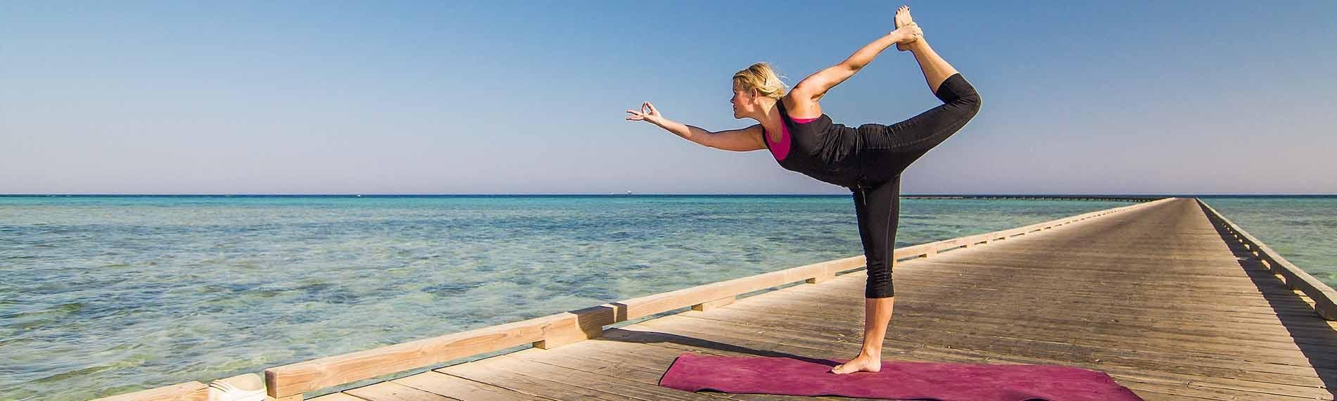 Tauchen und Yoga © The Breakers, Soma Bay