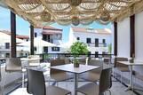 Samos, Hotel Kalidon, Frühstücksterrasse