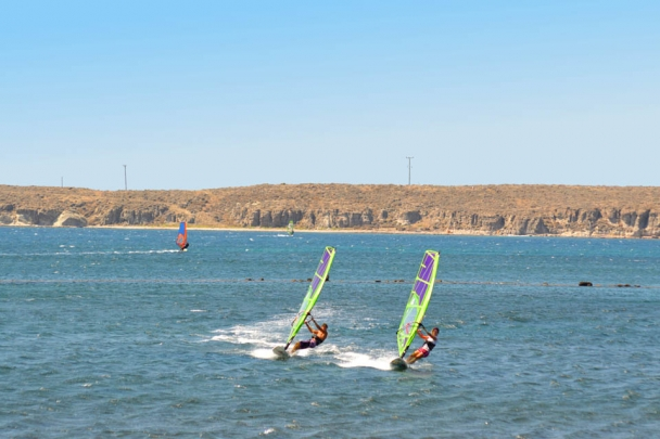 Sigri - Lesbos, Sigri Surfcenter, Surfaction Bucht