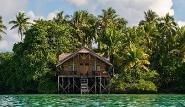 Kalimantan - Nabucco Island Resort, Bungalow