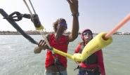 El Gouna - Kite People, Schulung Schirm