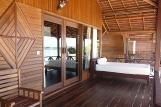 Kalimantan Nunukan Island Resort, Terrasse Beachbungalow