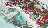 Bonaire - Sorobon Übersicht-Lageplan Chalet und Pro-Center