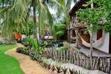 Barra Grande - Titas, Gartenanlage