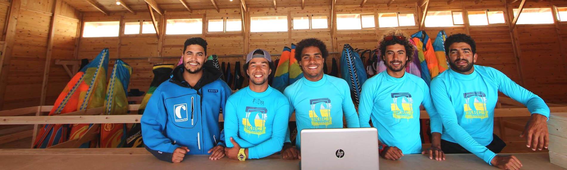 Kiteboarding Club Dakhla Team