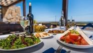 Limnos - Keros Blue, griechisches Essen im Restaurant