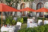 Mauritius - The St. Regis Resort, Frühstücksterrasse