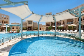 El Gouna - Mosaique Hotel, Pool und Kinderbecken