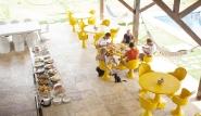 Parajuru - Casa Grande, Frühstücksterrasse