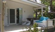 Bonaire, Sorobon Beach Resort, Terrasse Chalet