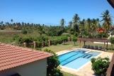 Sao Miguel do Gostoso - Vila Emanuelle, Blick vom Balkon auf großen Pool