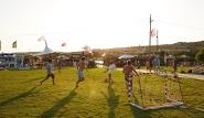 Alacati Alacati Surf Paradise Club Fussball an der Station