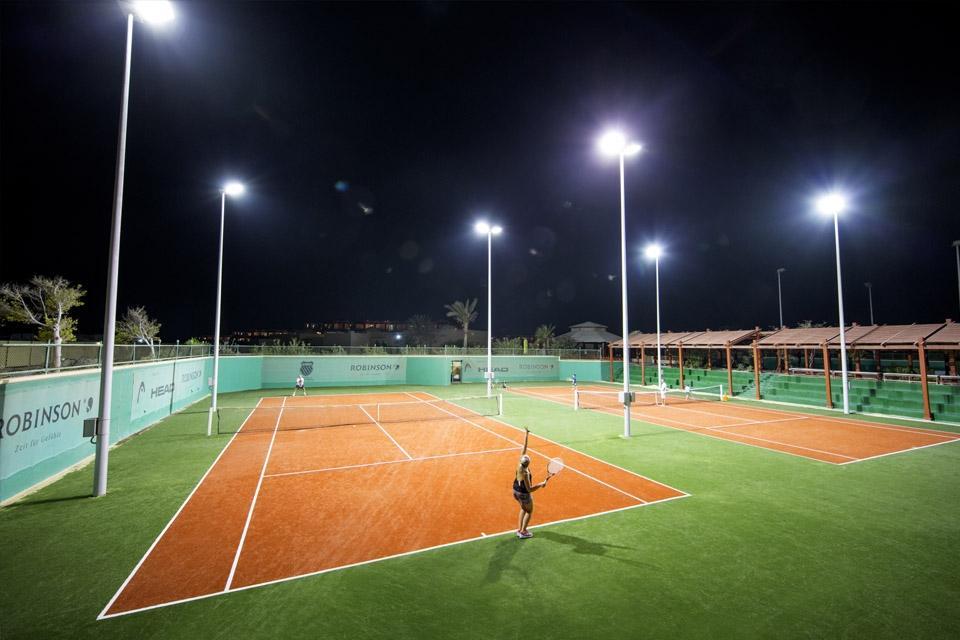 Soma Bay - ROBINSON Club, Tennisanlage mit Flutlichtt