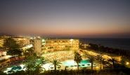 Rhodos Trianda - Sun Beach Resort, Hotel bei Nacht
