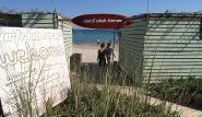 Limnos - Surf Club Keros, Eingang