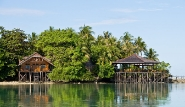 Kalimantan - Nabucco Island Resort, Restaurant