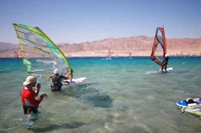 Dahab - Harry Nass Windsurf Schlung