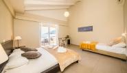 Lefkada - Club Vass Hotel, Dreibettzimmer mit Balkon Meerblick