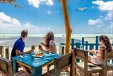 Bonaire - Jibe City, Blick auf den Spot