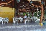Peleliu - Dolphin Bay Resort, Terrasse