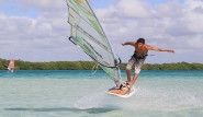 Bonaire - Surf Action, Jibe City