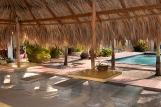 Bonaire, Sonrisa Boutique Hotel, Sitzgelegenheit Pool