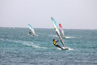 Sal - ION CLUB Ponta Leme, Windsurf Action