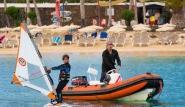 Lanzarote - Windsurfing Club Las Cucharas, Kinderkurs