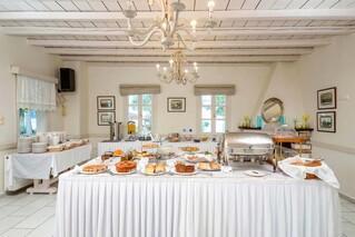 Naxos - Alkyoni Beach Hotel, Frühstücksbuffet