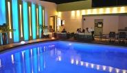 Rhodos Trianda - Hotel Heleni, Pool bei Nacht