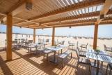 Sal - Oasis Atlantico Salinas Sea, Strandrestaurant und Bar