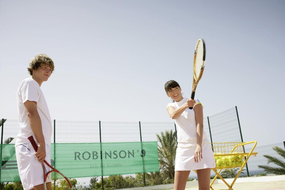 Fuerteventura - ROBINSON Club Esquinzo Playa, Tennisraining