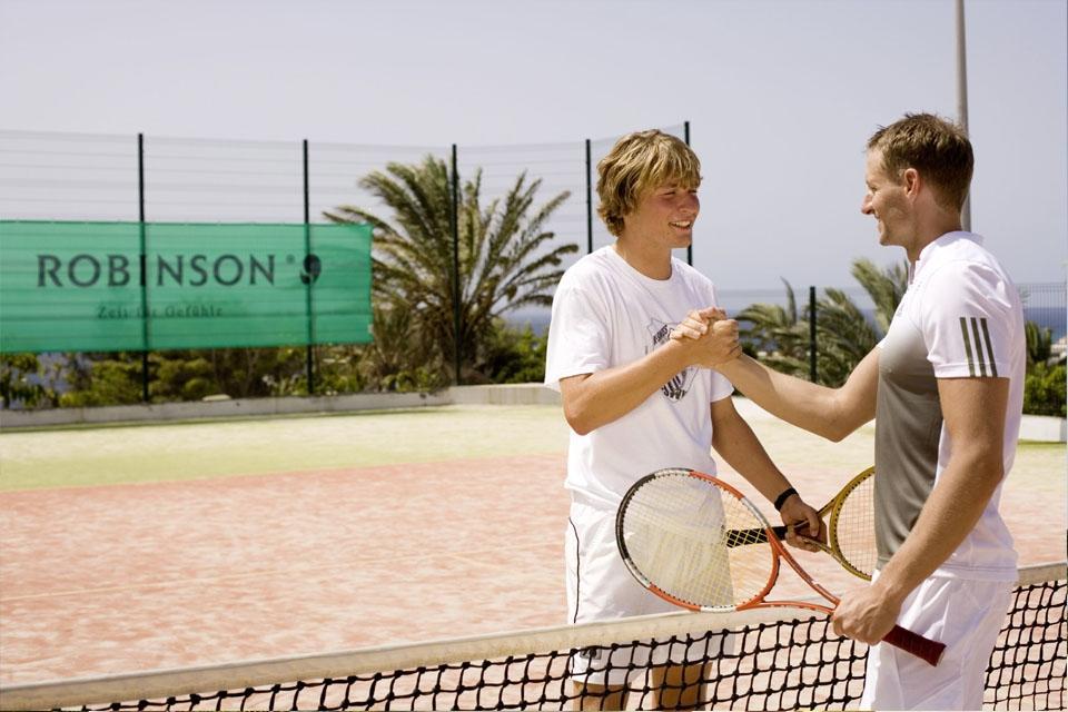 Fuerteventura - ROBINSON Club Esquinzo Playa, Tennis Match