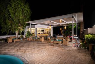 Rhodos Theologos - Sabina Hotel, bei Nacht
