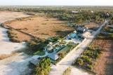 Parajuru - Maré Alta und Kiteboarding-Club Luftaufnahme