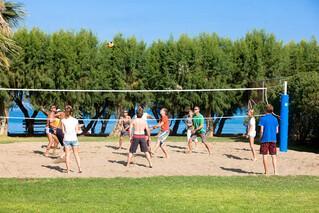 Rhodos Theologos - Alex Beach Hotel, Volleyballplatz