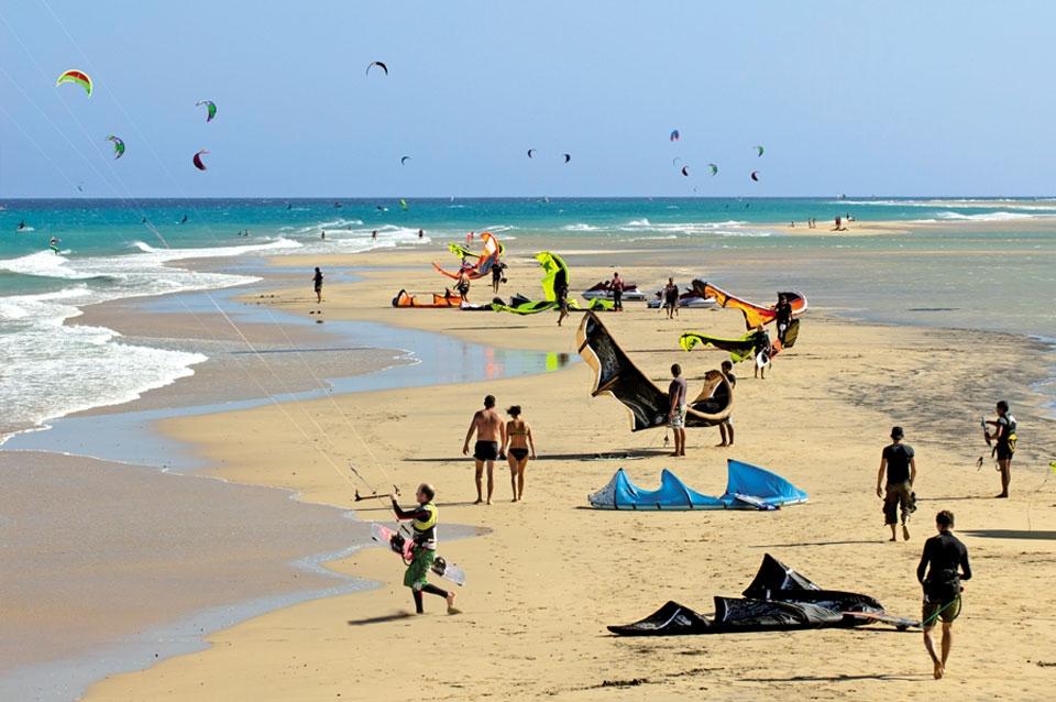 Fuerteventura - Kite Revier