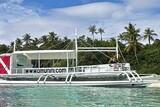 Bohol - Amun Ini Dive Center, Tauchboot