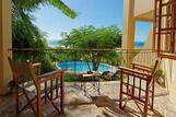 Mozambique Vilanculo Casa Rex Lodge, Bungalow mit Blick