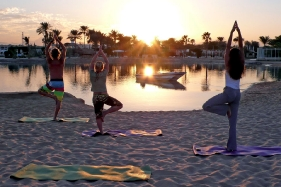 Hurghada - Yoga am Strand