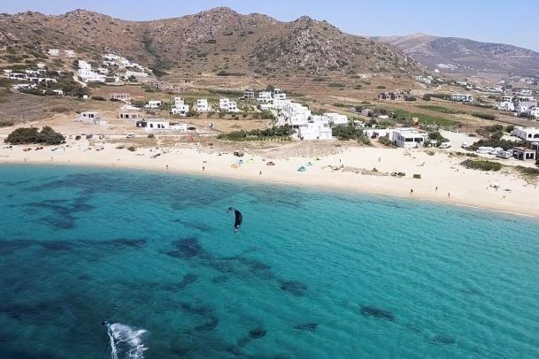 Naxos - Mikri Vigla, Kitespot