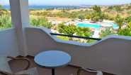 Sigri Lesbos - Orama Hotel, Blick Richtung Bucht