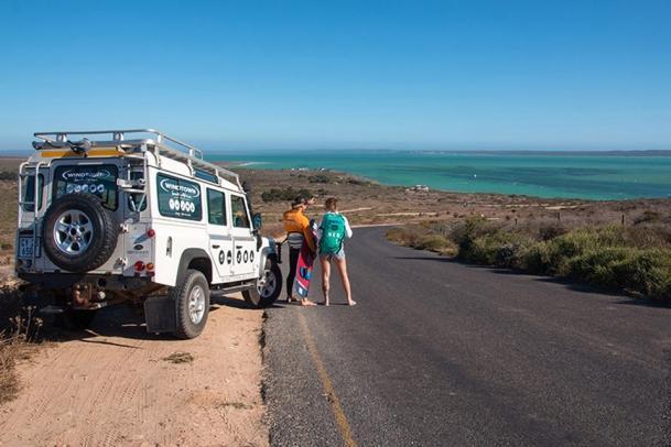 Südafrika - Kitecity Langebaan, Blick zum Spot