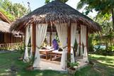 Bohol - Oasis Resort, Massagepavillon