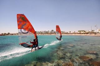 Hurghada - Surfspot vor Mercure Hotel