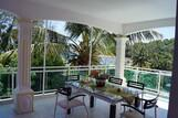Mauritius - Baie du Cap, Kitglobing App. Sunil Balkon