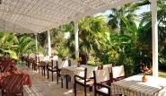 Kos Marmari Cavo d`Oro, Restaurant aussen